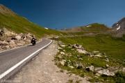 Col Agnel, Französische Alpen, Queyras, italienische Grenze