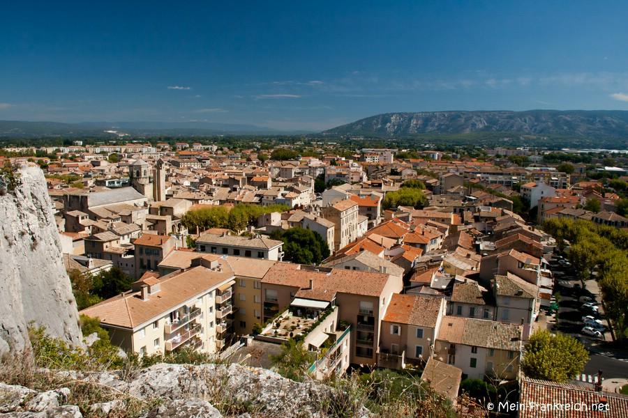Ausblick über Cavaillon