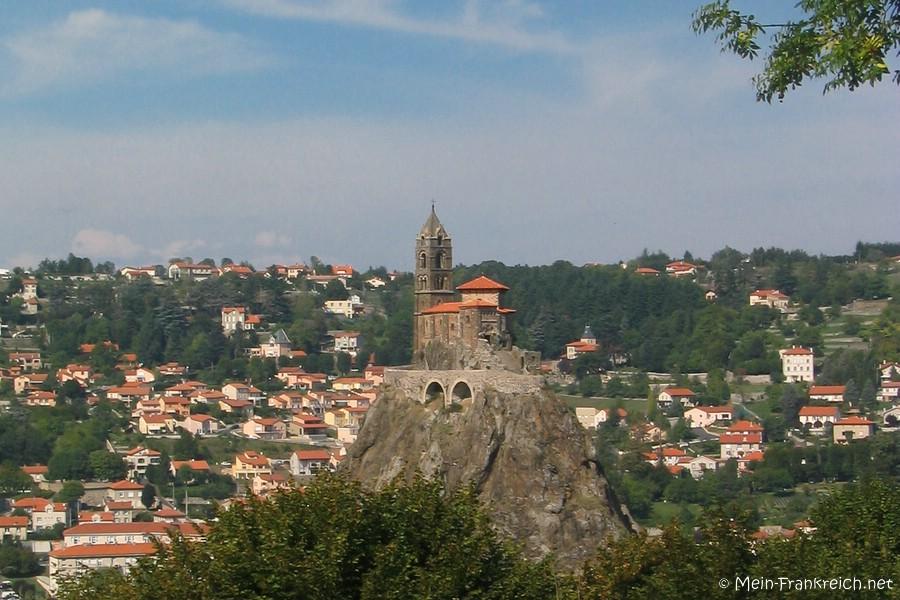 Blick über Le Puy-en-Velay