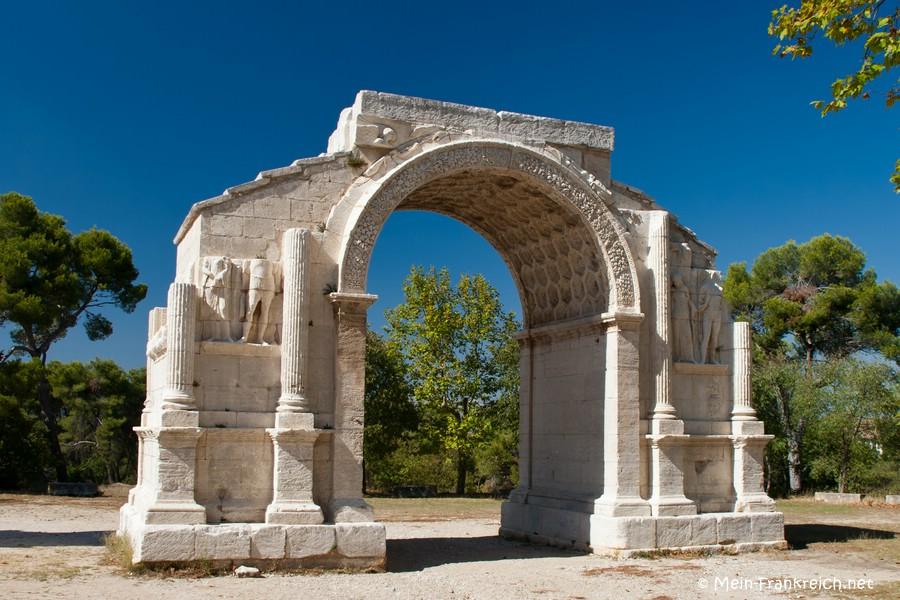 Römischer Triumphbogen bei Glanum