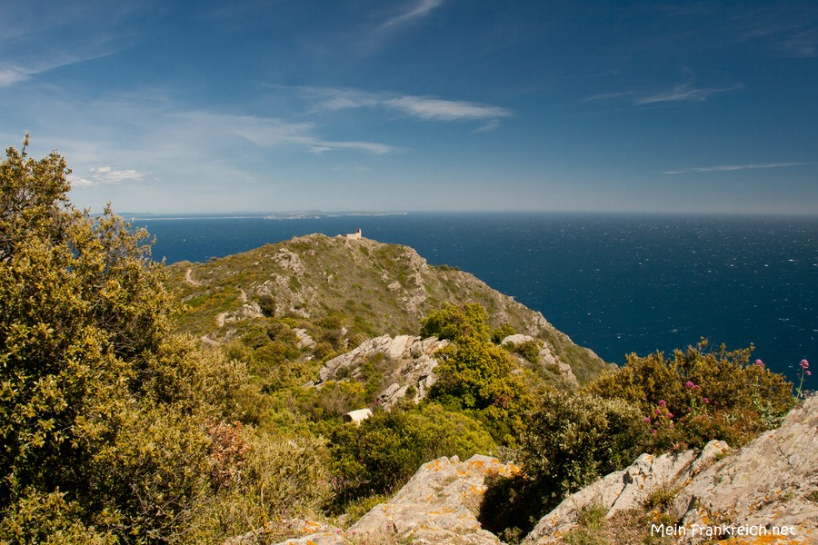 Ausblick am Cap Sicié