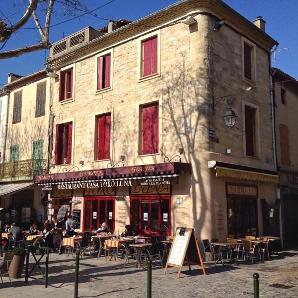 Restaurant im Zentrum von Aigues-Mortes