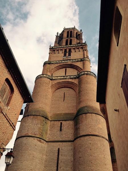 Turm der Kathedrale von Albi