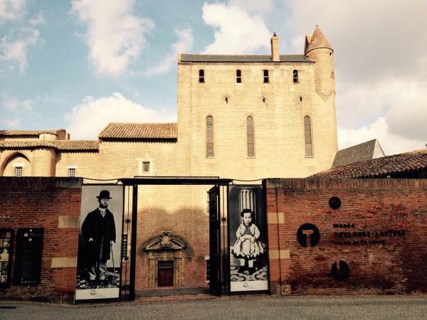 Albi, Eingang zum Museum Toulouse-Lautrec