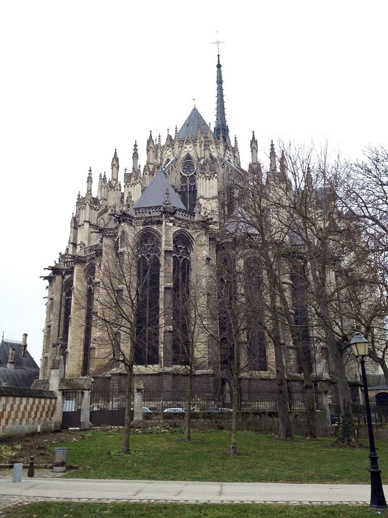 Amiens, Rückseite der Kathedrale