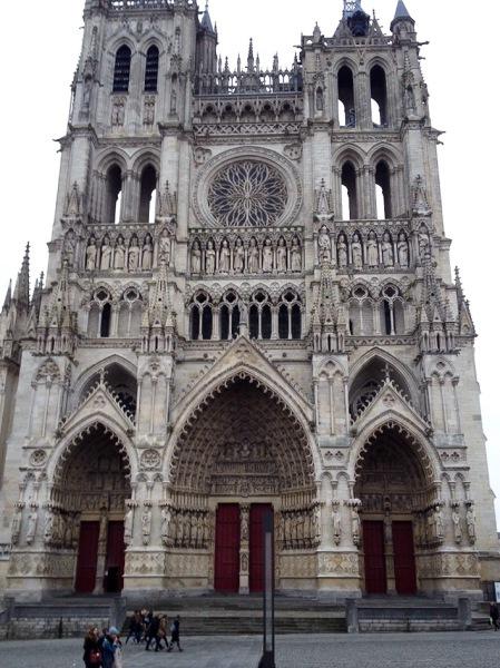 Die Kathedrale von Amiens
