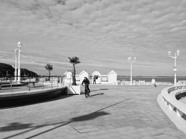 Arcachon, Strandpromenade