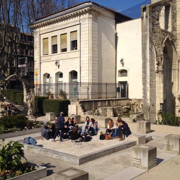 Mittags in Avignon