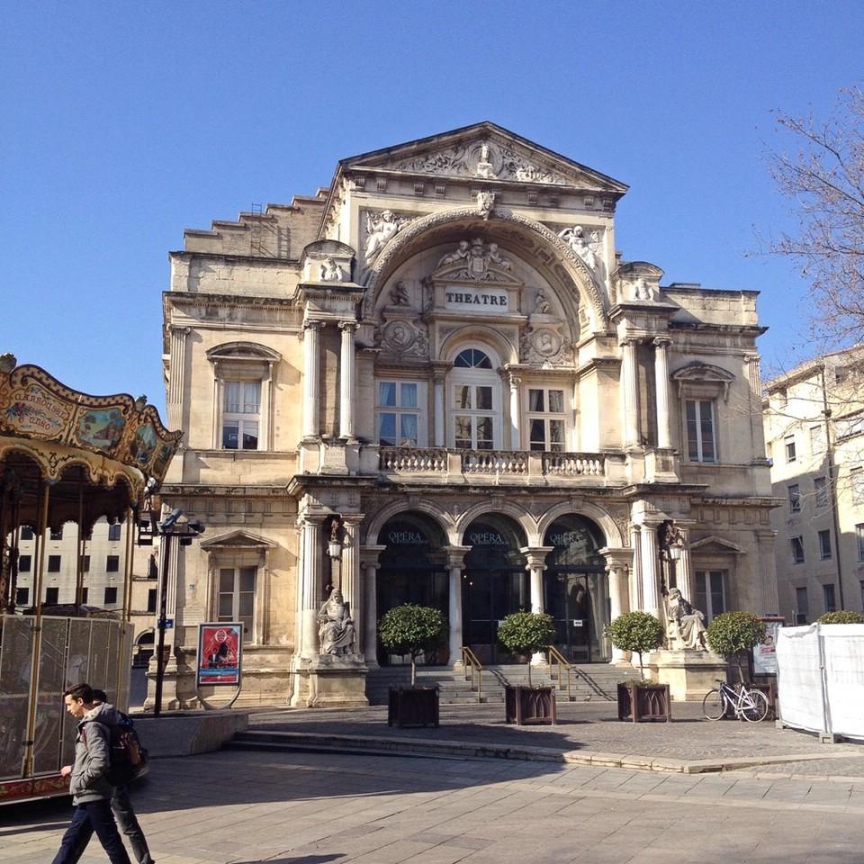 Das Theater im Zentrum von Avignon