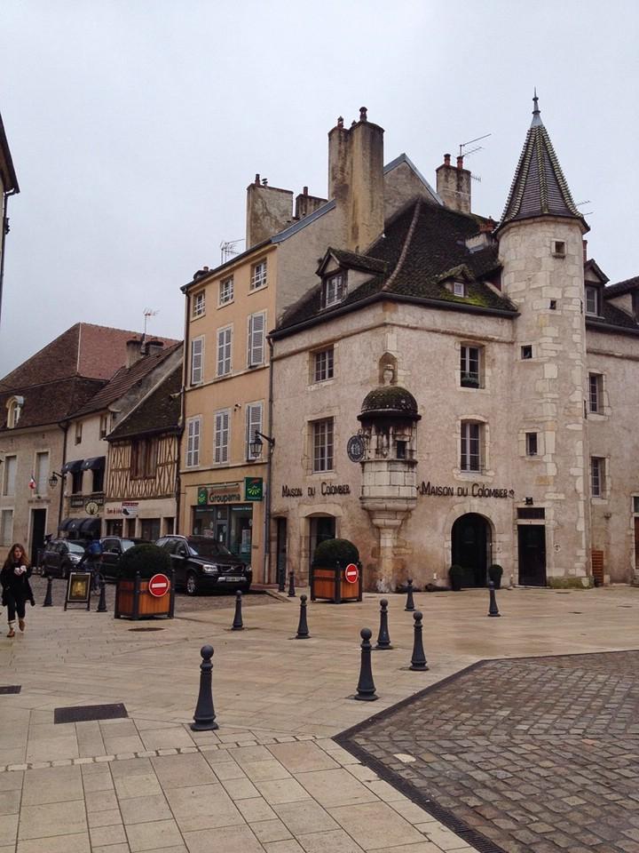 Haus in der Altstadt von Beaune