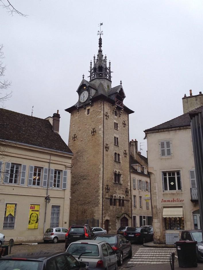 Beaune, Turm in der Altstadt
