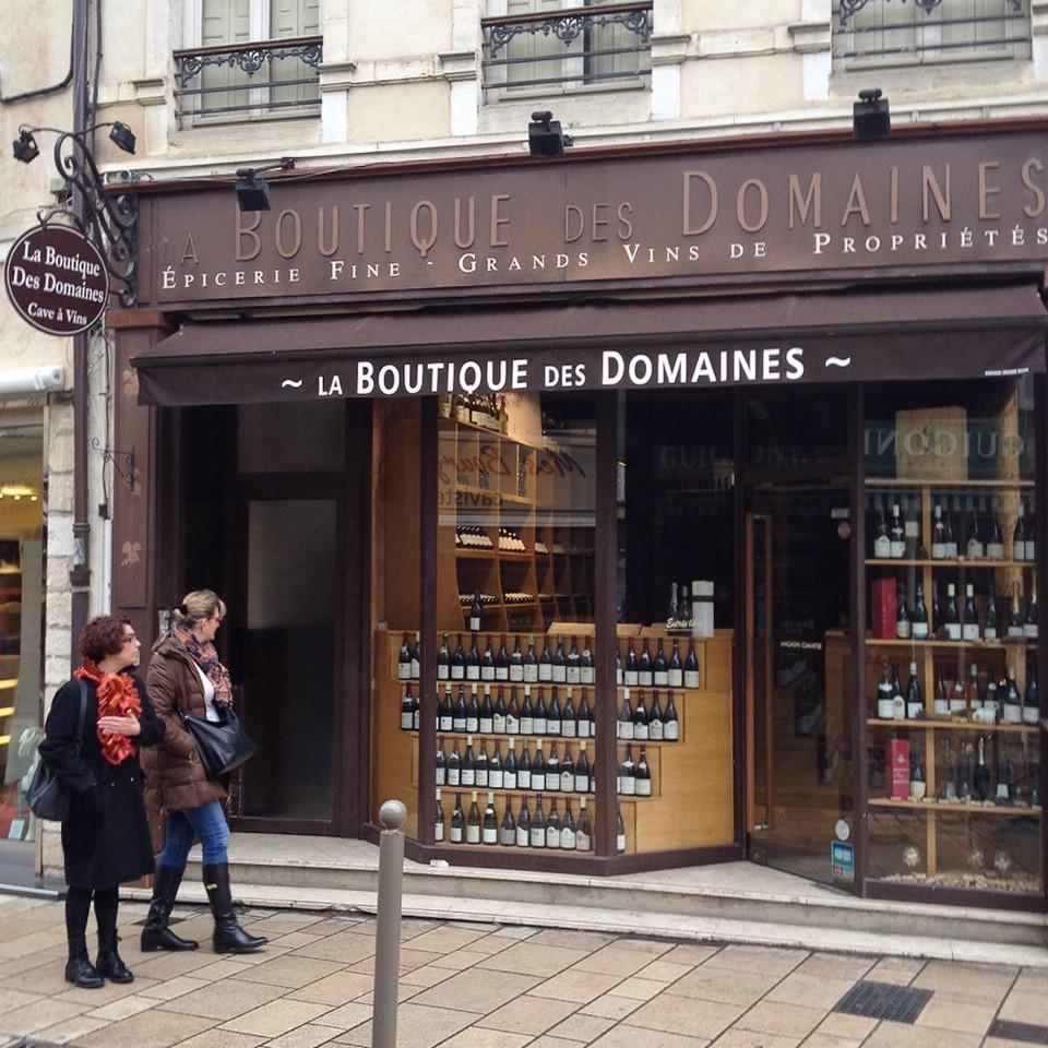 Weiterer Weinverkäufer im Zentrum von Beaune