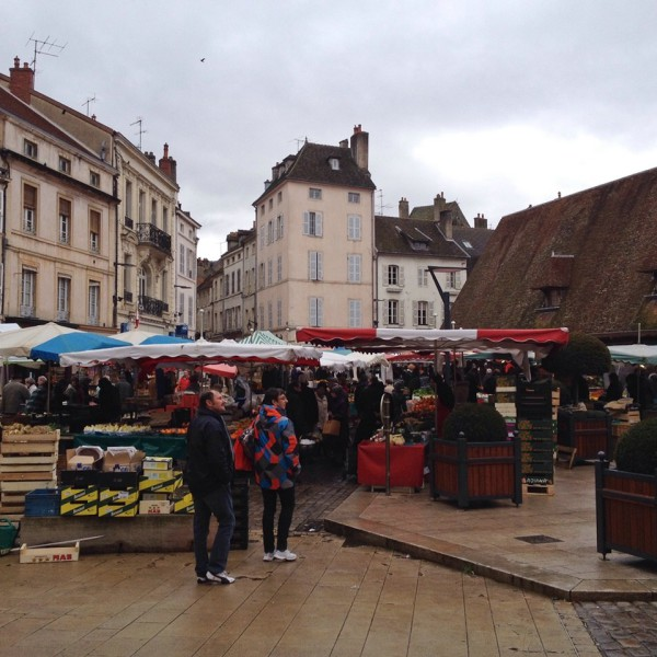 Wochenmarkt in Beaune