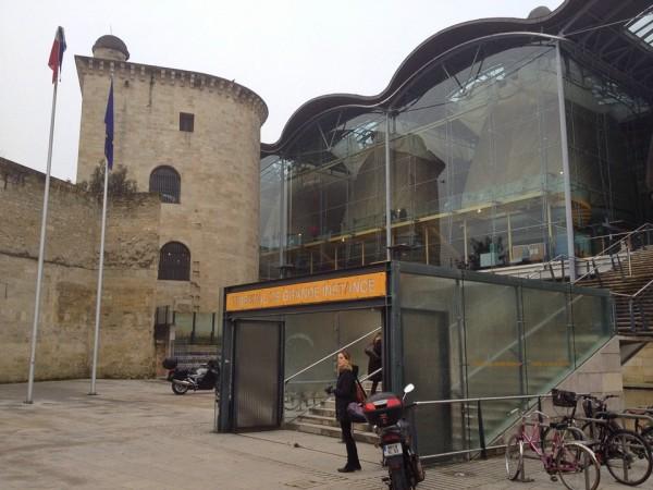 Teil der Universität von Bordeaux