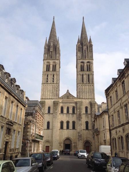 Die Abteikirche der Abbaye aux Hommes
