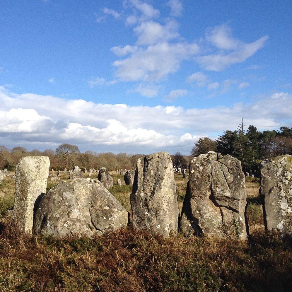 Megalithe bei Carnac