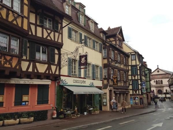 Noch mehr Fachwerkhäuser in Colmar