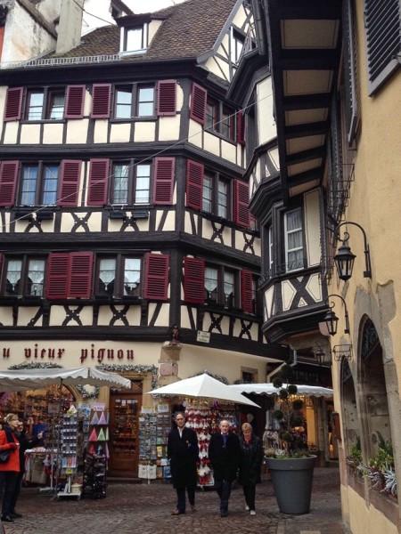 Fachwerk in der Altstadt von Colmar