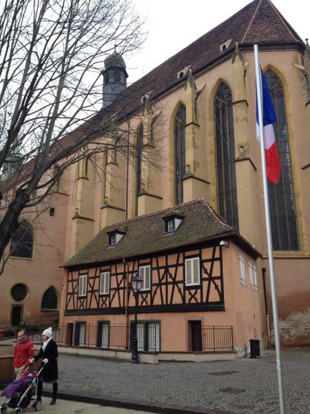 Die Kirche Saint-Matthieu in Colmar