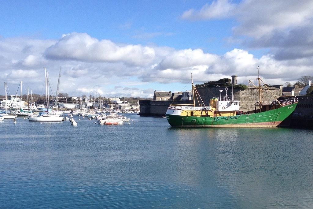 Der Hafen von Concarneau