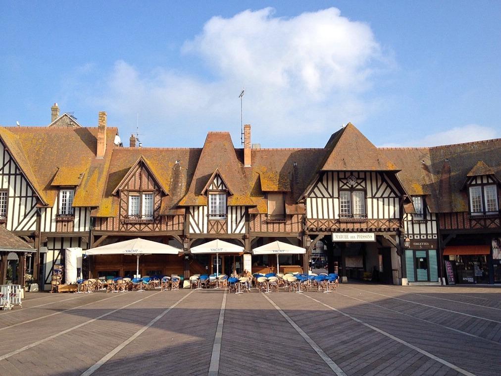 Deauville, Haus am Fischmarkt