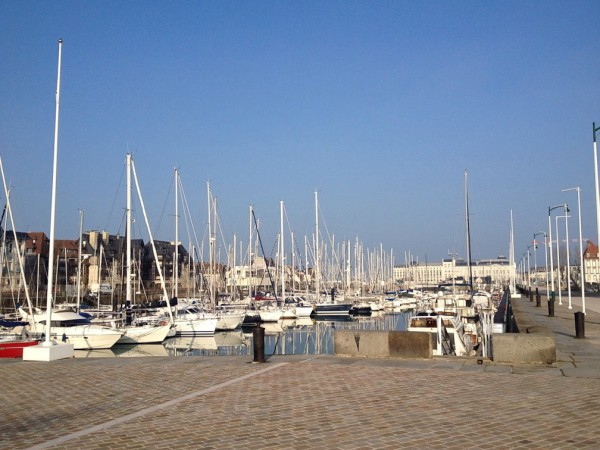 Hafen von Deauville