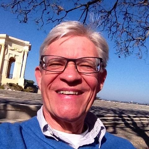 Dieter Makowski, Selfie im sonnigen Montpellier