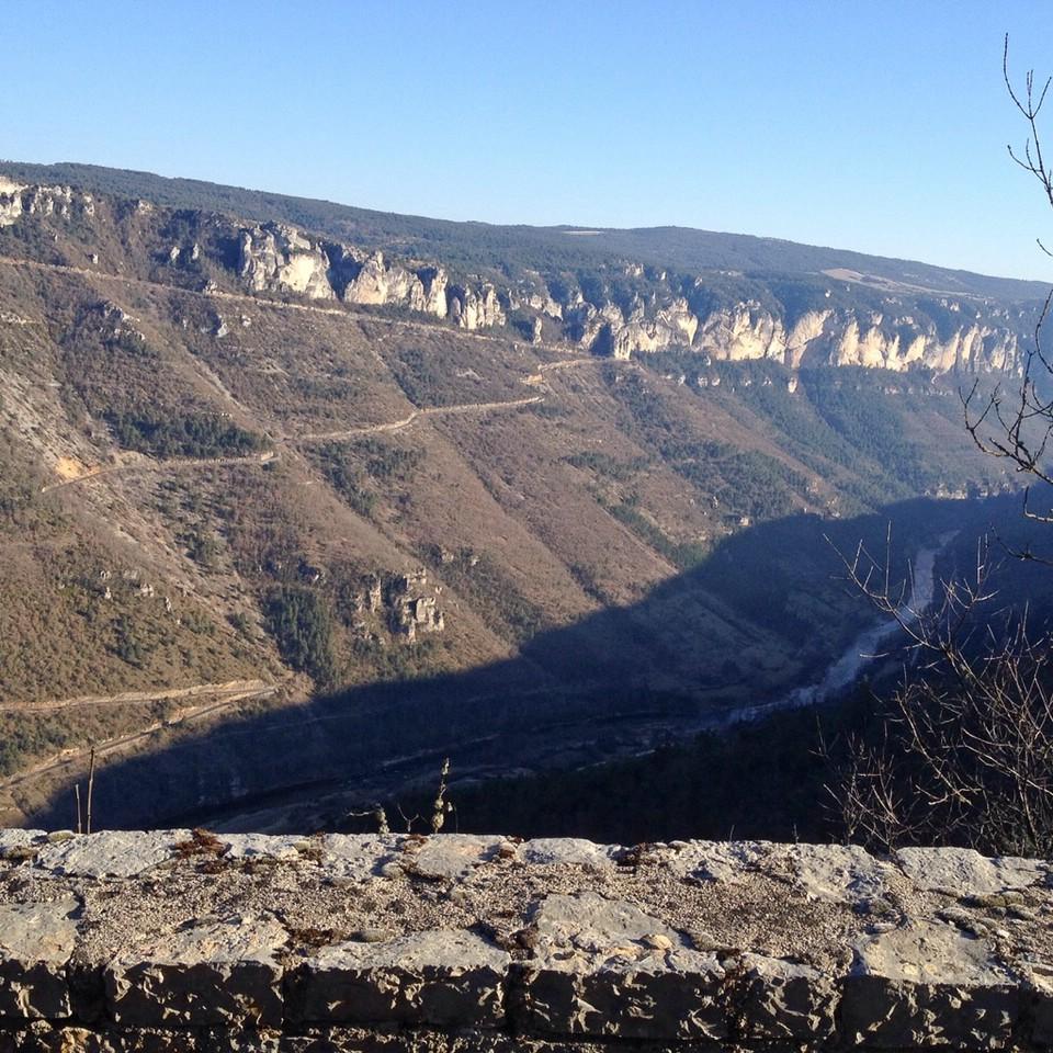 Ausblick in die Gorges du Tarn