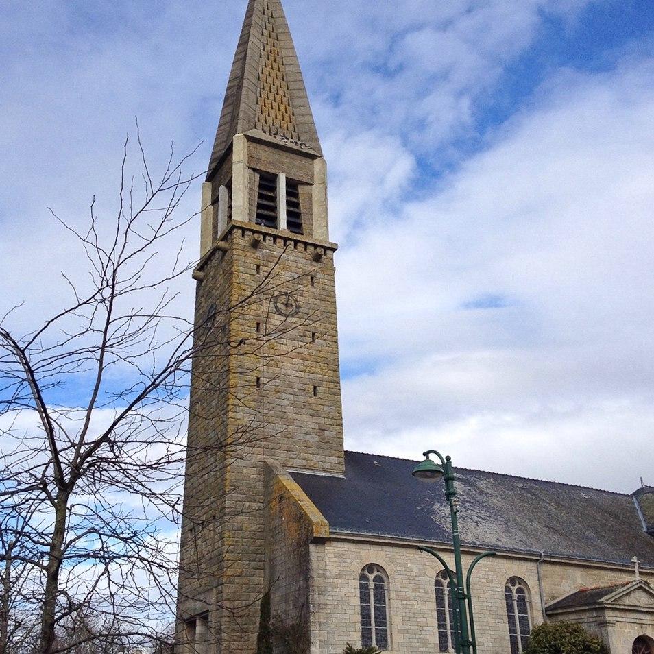 Die Kirche von Guidel