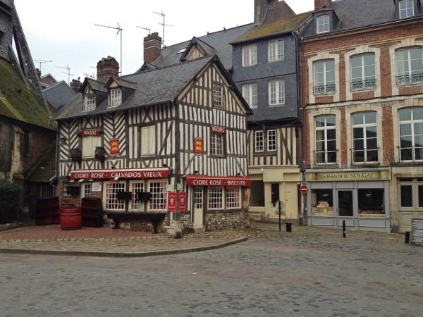 Hübsche Häuser in Honfleur