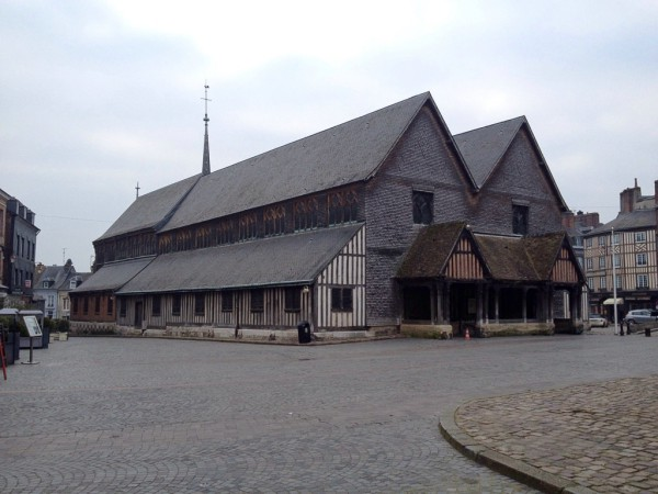Honfleur, die Holzkirche Sainte-Catherine