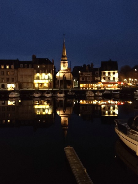 Abends in Honfleur