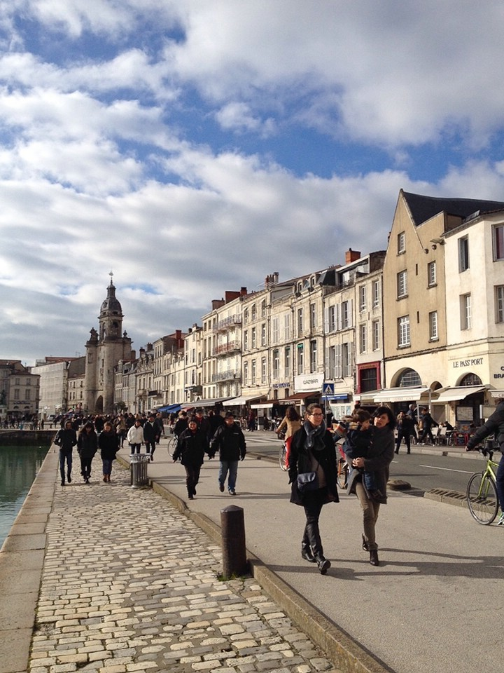 La Rochelle, Hafenpromenade