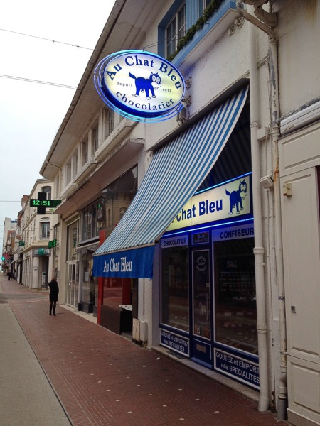 Le Touquet, Au Chat Bleu