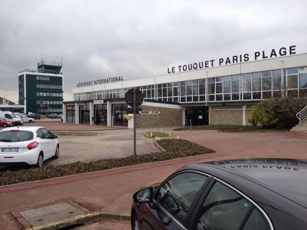 Le Touquet, Flughafen