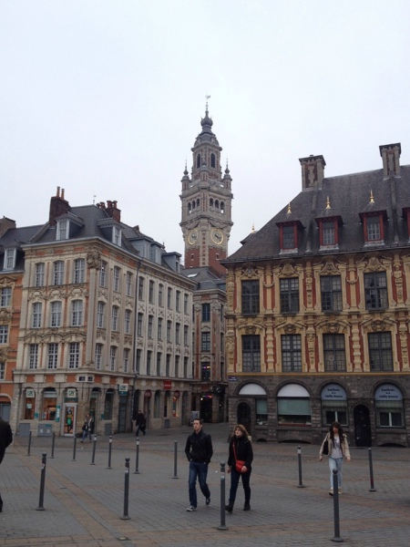 Der Place du Général de Gaulle im Zentrum von Lille