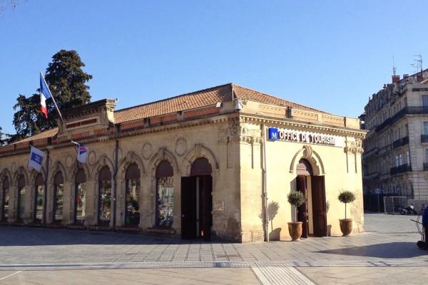 Das Gebäude des Office de Tourisme in Montpellier