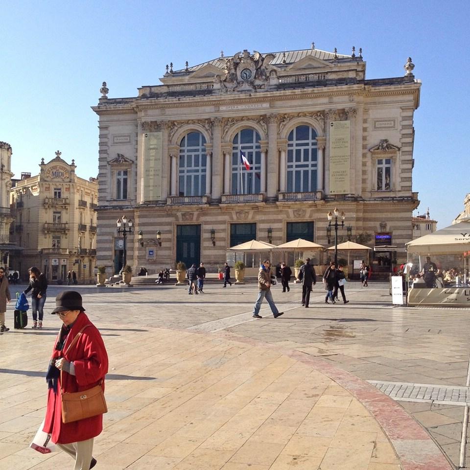 Das Opernhaus von Montpellier