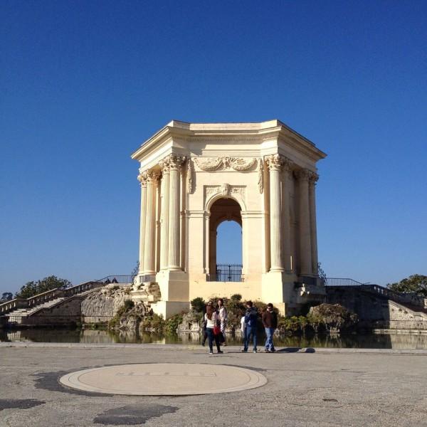 Montpellier, Place du Peyrou