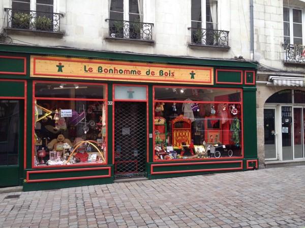 Weiteres Geschäft im Zentrum von Nantes