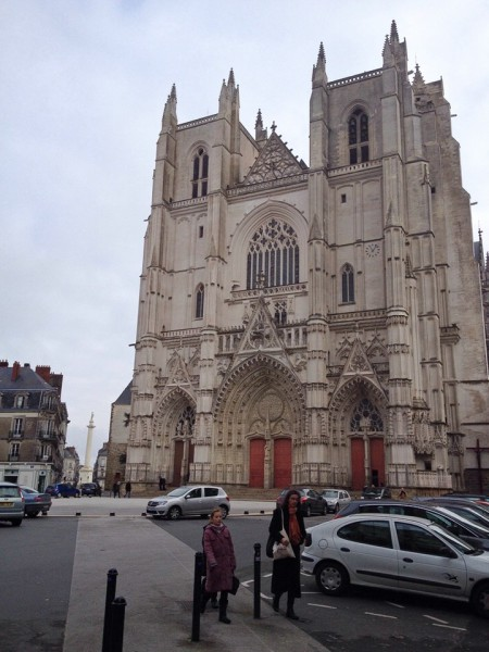 Die Kathedrale Saint-Pierre et Saint-Paul in Nantes