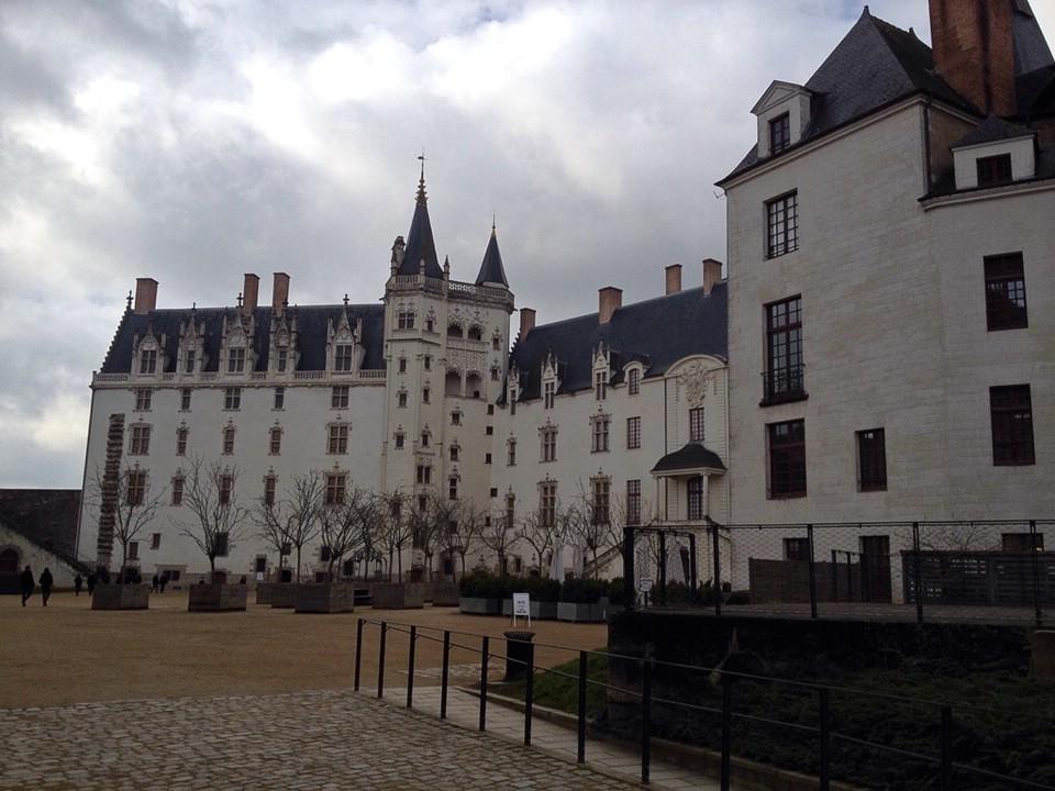 Das Schloss der Herzöge der Bretagne in Nantes