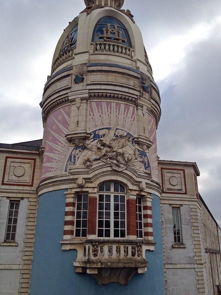 Nantes, Detailansicht des Tour LU