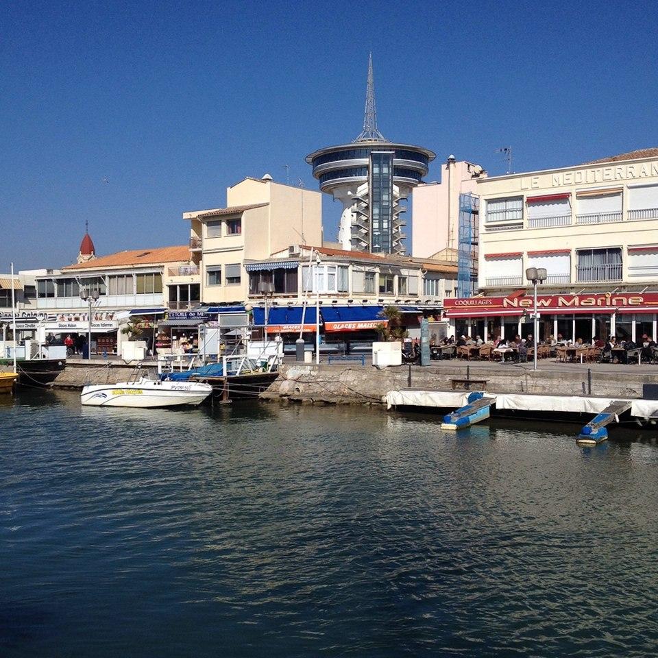 Am Hafen von Palavas-les-Flots