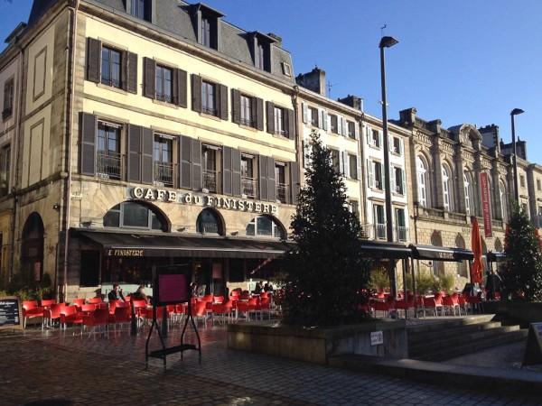 Café du Finistère im Zentrum von Quimper