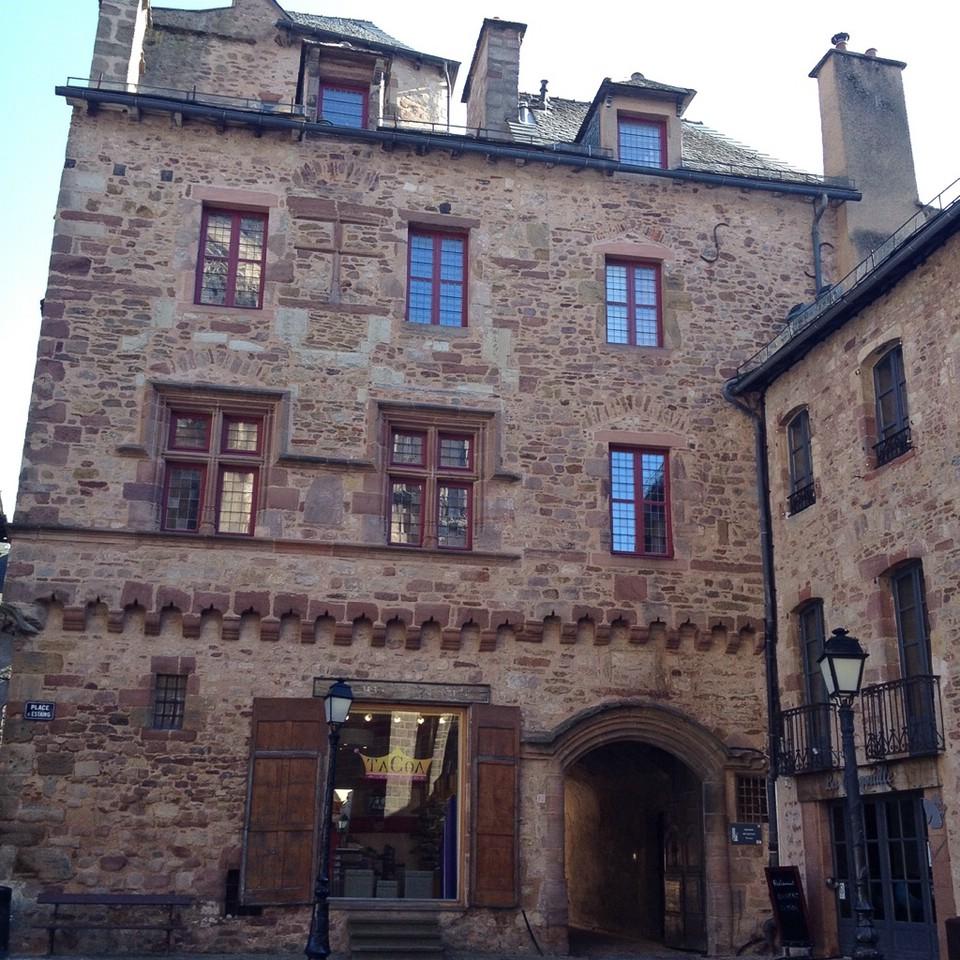 Schönes Haus in der Altstadt von Rodez