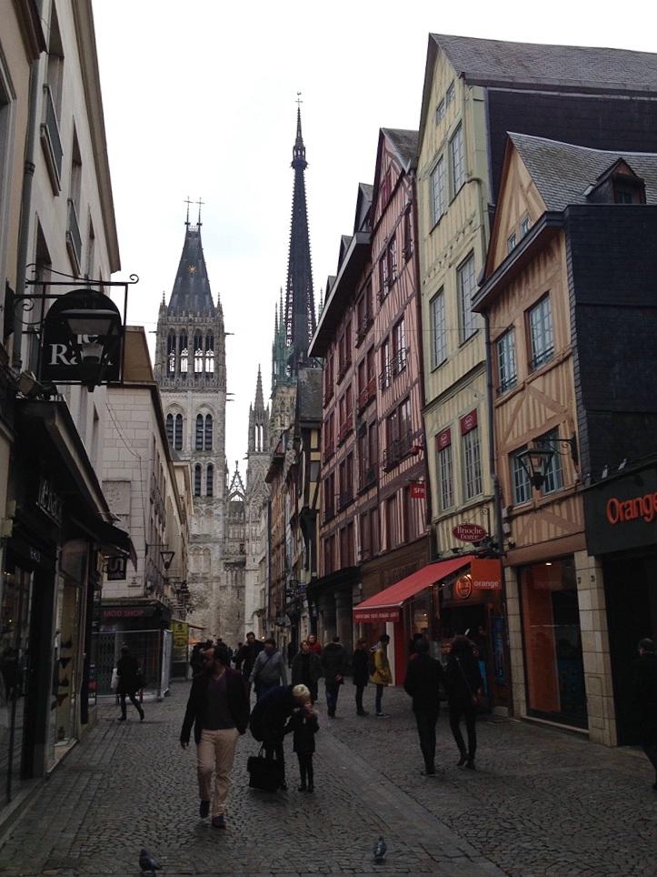 Die wunderschöne Altstadt von Rouen