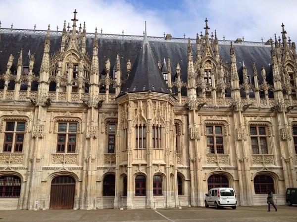 Der Justizpalast von Rouen