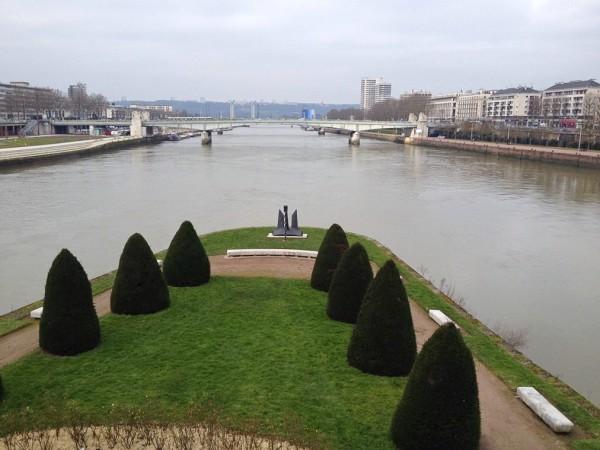 Die Seine in Rouen