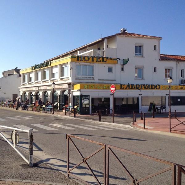 Das Restaurant L'Abrivado in Saintes-Maries-de-la-Mer